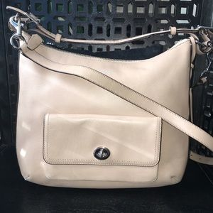 Coach Oat Bag with Nickel Hardware